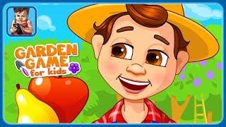 Ферма для детей * Вырастим фрукты и овощи в саду и огороде * мультик игра для детей