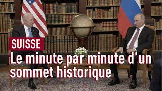 Genève en plein sommet, le minute par minute