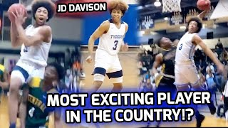 Alabama Player of The Year JD Davison Is The MOST EXCITING PLAYER IN COUNTRY! Junior Year Mixtape 🤩