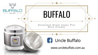 Save $70 on Buffalo most popular Stainless Steel Inner Pot Rice Cooker!