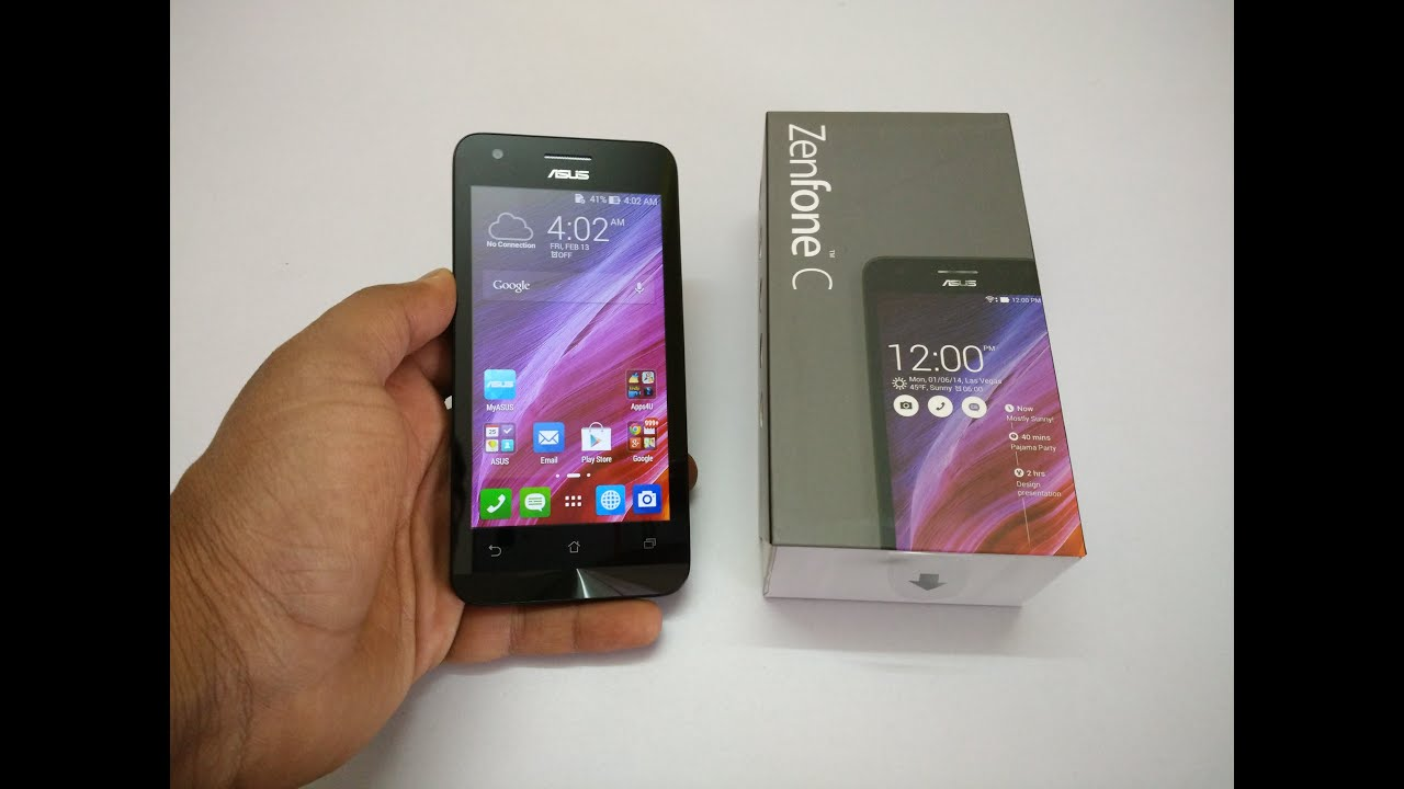 Asus Zenfone C Unboxing And Hands On Review