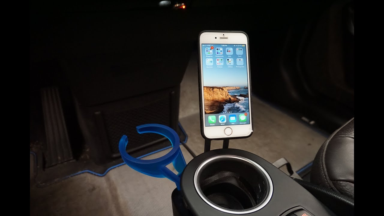 Comfort Charge Wireless Charging And Magnetic Phone Mount For Bmw