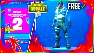 "Comment obtenir GRATUITEMENT FORTNITE SKIN - BACKBLING! ""BLUE STRIKER"" - ""BLUE SHIFT"" Pack de célébration 2!"