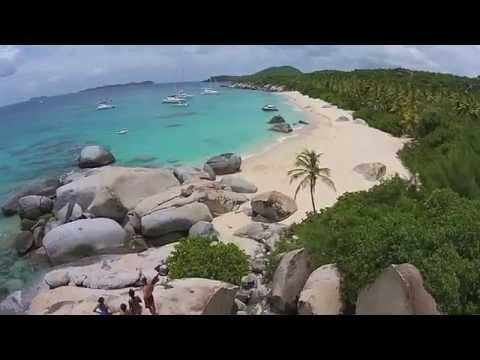 Virgin Islands Aerial Drone Movie