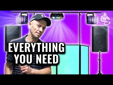 EVERYTHING You Need To Be A Mobile DJ - W/ DJ Tutor