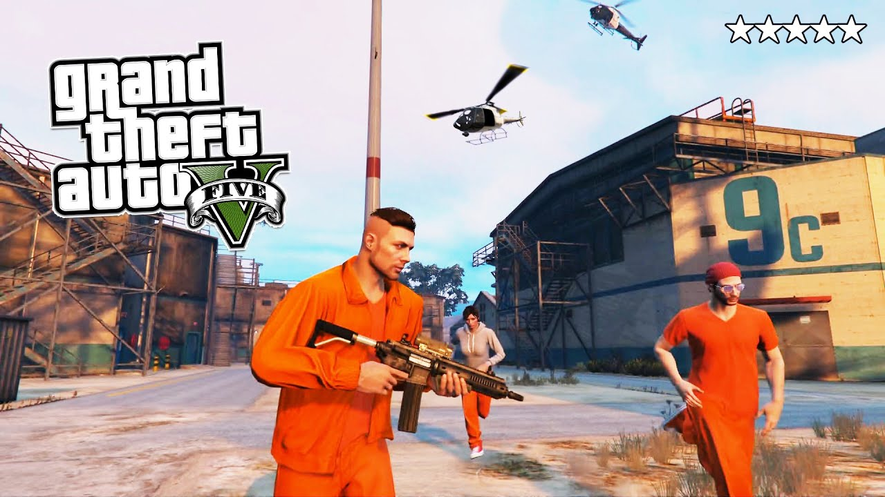 Pics photos grand theft auto iv the law breaking spree continues - Gta 5 Online Prison Break 5 Star Police Getaway In Gta Online Gta 5 Ps4 Gameplay