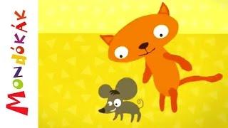 Ecc, pecc, kimehetsz (Gyerekdalok és mondókák, rajzfilm gyerekeknek)