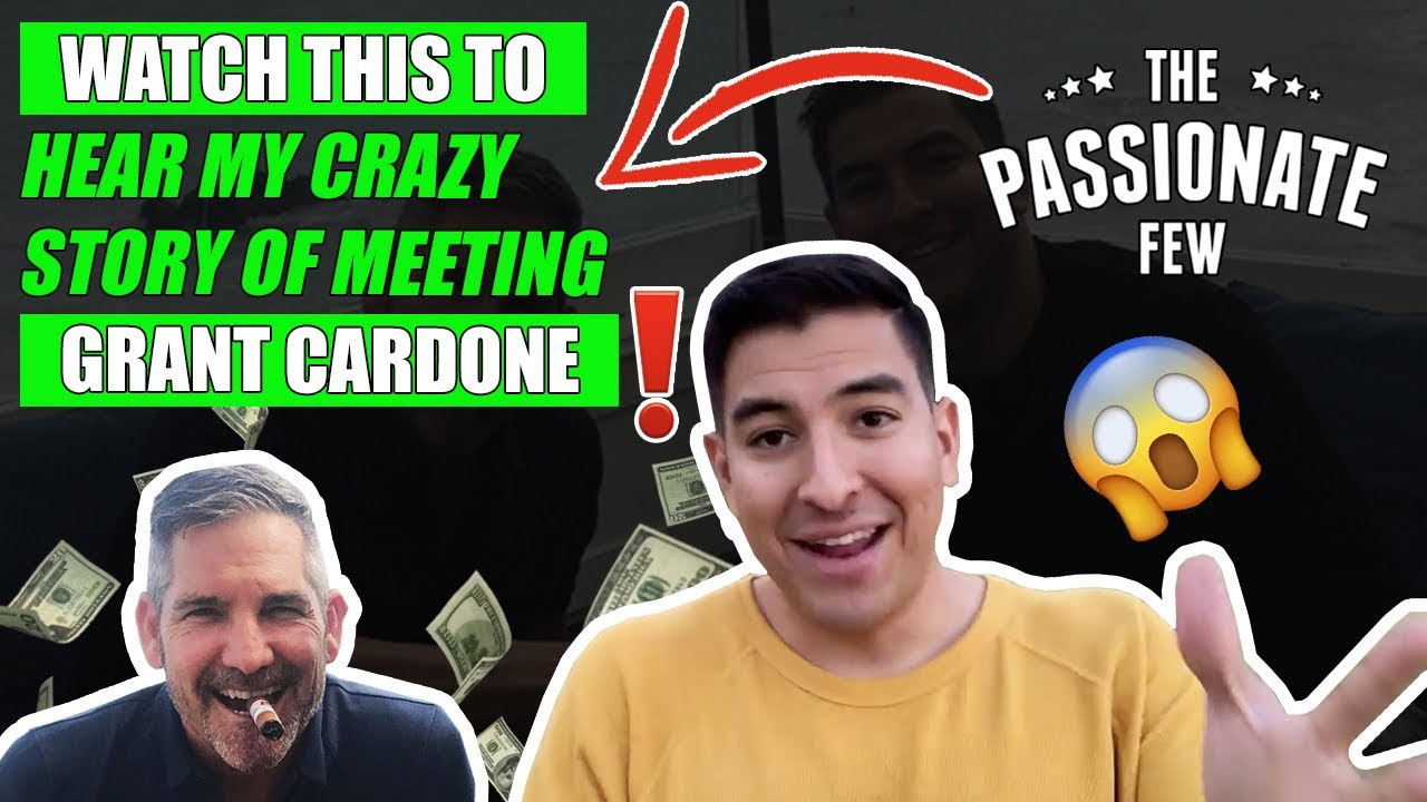 My Crazy Story Of How I Got An Interview w/ GRANT CARDONE!