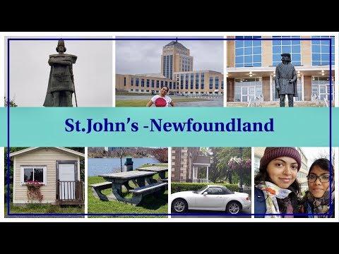 ST.JOHN'S NEWFOUNDLAND - CANADA VLOG - MEMORIAL UNIVERSITY ATLANTIC CANADA (EP 183)
