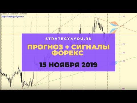 Прогноз EURUSD (+9 пар) на 15 НОЯБРЯ 2019 + сигналы, обзоры, аналитика форекс