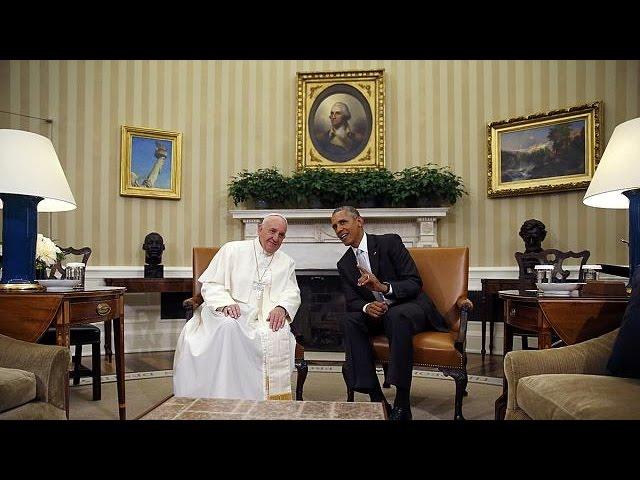 Obama y el papa Francisco hacen gala de su sintonía en la Casa Blanca