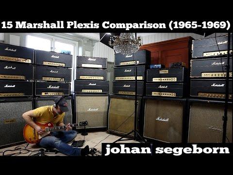 15 Marshall Plexi Amps Comparison - Shootout