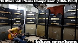 15 Marshall Plexi Amps Comparison - Shootout