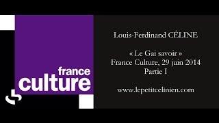 Louis-Ferdinand CÉLINE par Raphaël ENTHOVEN 1/2 (2014)