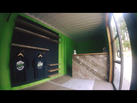 Floating Solid Timber Display Shelves | Shipping Container Build Ep 8