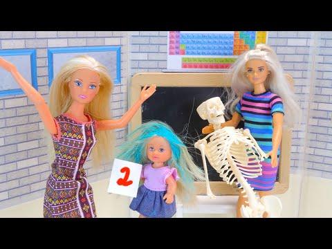 КОСТЮМ НА ХЕЛЛОУИН Мультик Барби Куклы Игрушки Видео для девочек Про школу Айкукла тв