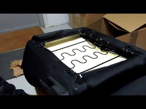 How to replace the heating element in Land Rover Defender Sports seats