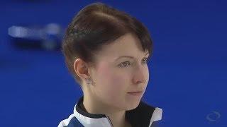 2016世界女子カーリング選手権 -予選リーグ第1戦- 日本 vs フィンランド