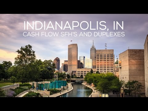 Indianapolis, IN Cash Flow SFH's and Duplexes