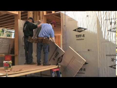Superinsulating A Home With Rigid Foam   YouTube