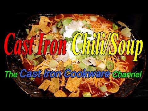 Cast Iron Chili/Soup