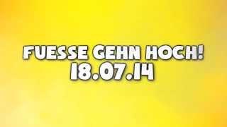 ApeCrime - Füße Gehen Hoch - 18.07.2014 (Single)