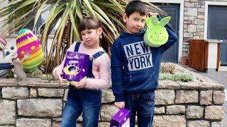 Indoor & Outdoor Easter Egg Hunt 2018! Kids activities video for Children