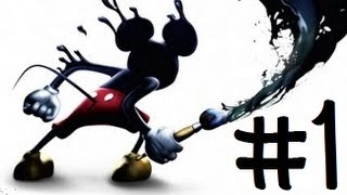 Epic Mickey (Blind) - Part 1 - The Story Begins