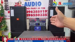 Bộ dàn karaoke đẳng cấp với đôi Loa bass 40 JBL 715 gửi anh Thăng ở Cổ Linh-Long Biên/ JK audio