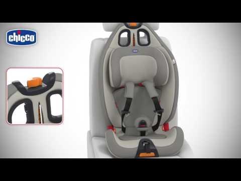 Автокресло Gro-up 123 NEW от Chicco