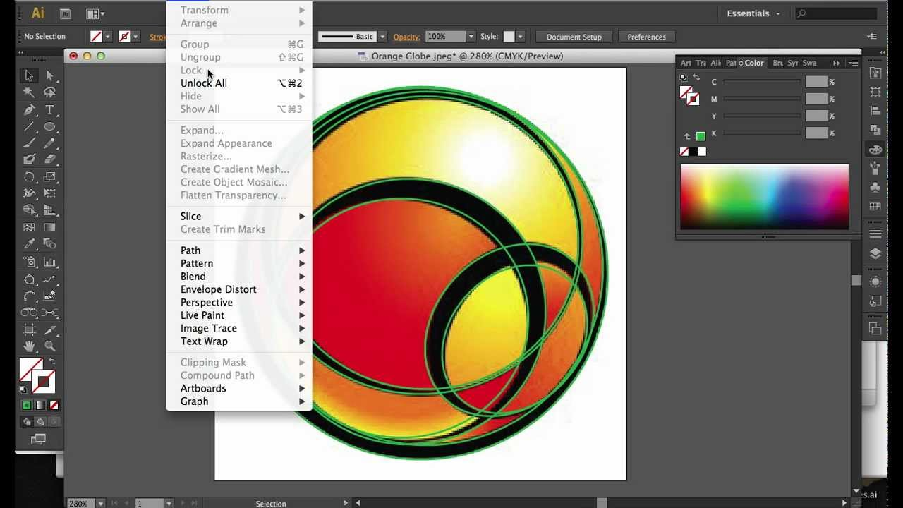 How To Use Live Paint On Illustrator