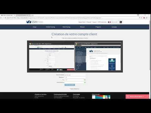 Nom de domain Ovh hébergement gratuit et upload FTP