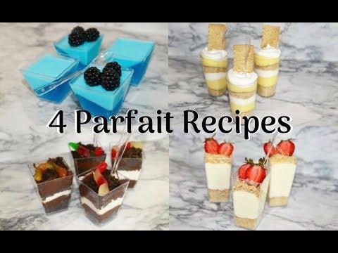 No Bake Parfait Cup Recipes