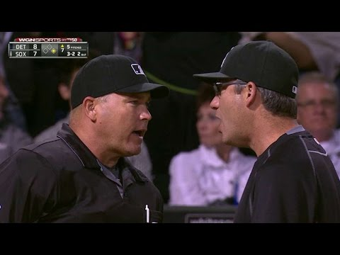 DET@CWS: Ventura tossed for arguing balls and strikes