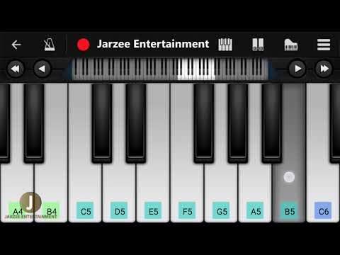 Allah Duhai Hai Piano (Race 3), Salman Khan - Easy Mobile Perfect Piano Tutorial