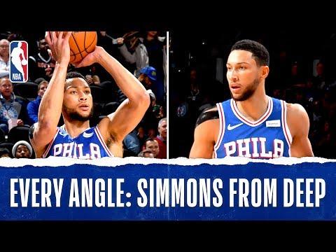 Every Angle: Simmons Buries The Triple!