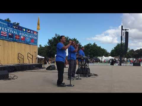 Mariana Islands Rhythm jamming at the 2017 Pacific Islander Festival (San Diego)