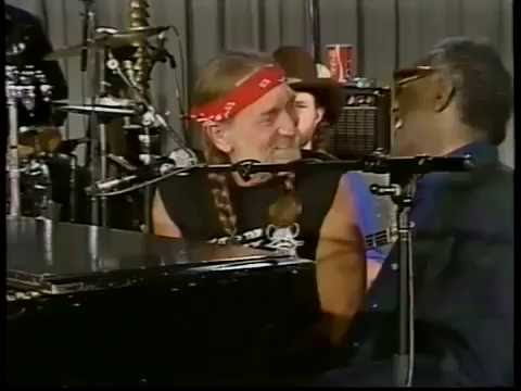 WILLIE NELSON & RAY CHARLES - I CAN´T STOP LOVING YOU -