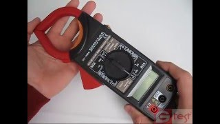 DT266 токовые клещи обзор