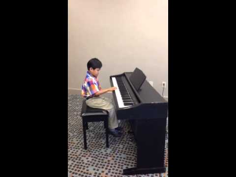 Aaron's First Piano Presentation (Ontario Conservatory of Music)
