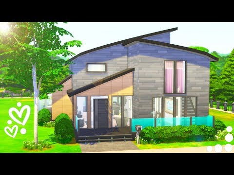 MODERN DREAM✨ // THE SIMS 4 | SPEED BUILD – SINGLE DAD LIFE HOME