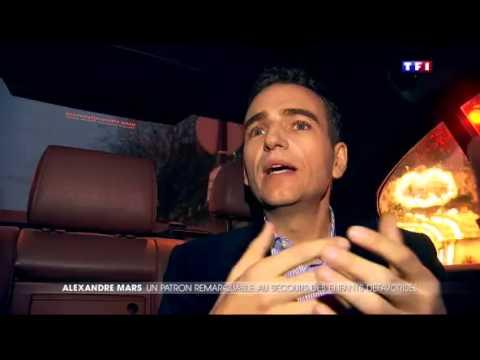 Alexandre Mars on TF1 News (France)
