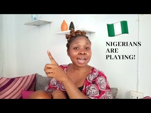 NIGERIA IS PLAYING ABOUT THE REALITY AT HAND