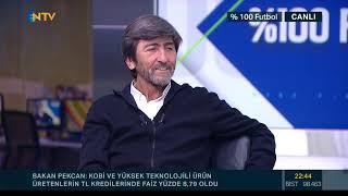 Rıdvan Dilmen: Türkiye'de VAR yok ki, ben ne yapayım! (% 100 Futbol Antalyaspor-Beşiktaş)