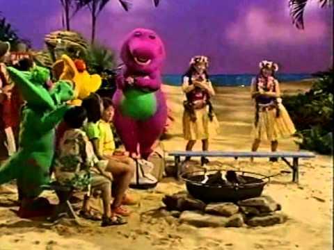 Barney's Beach Party - YouTube