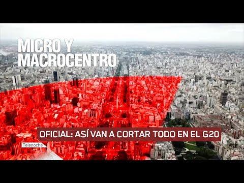 Asi van a cerrar Buenos Aires por el G20 durante 3 días