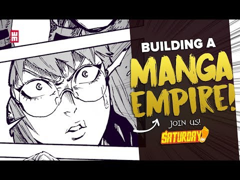 Making A Comic Company Is HARD FUN!   Join Us Behind Saturday AM
