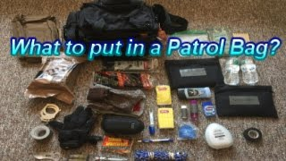 Whats Inside a Patrol Bag??