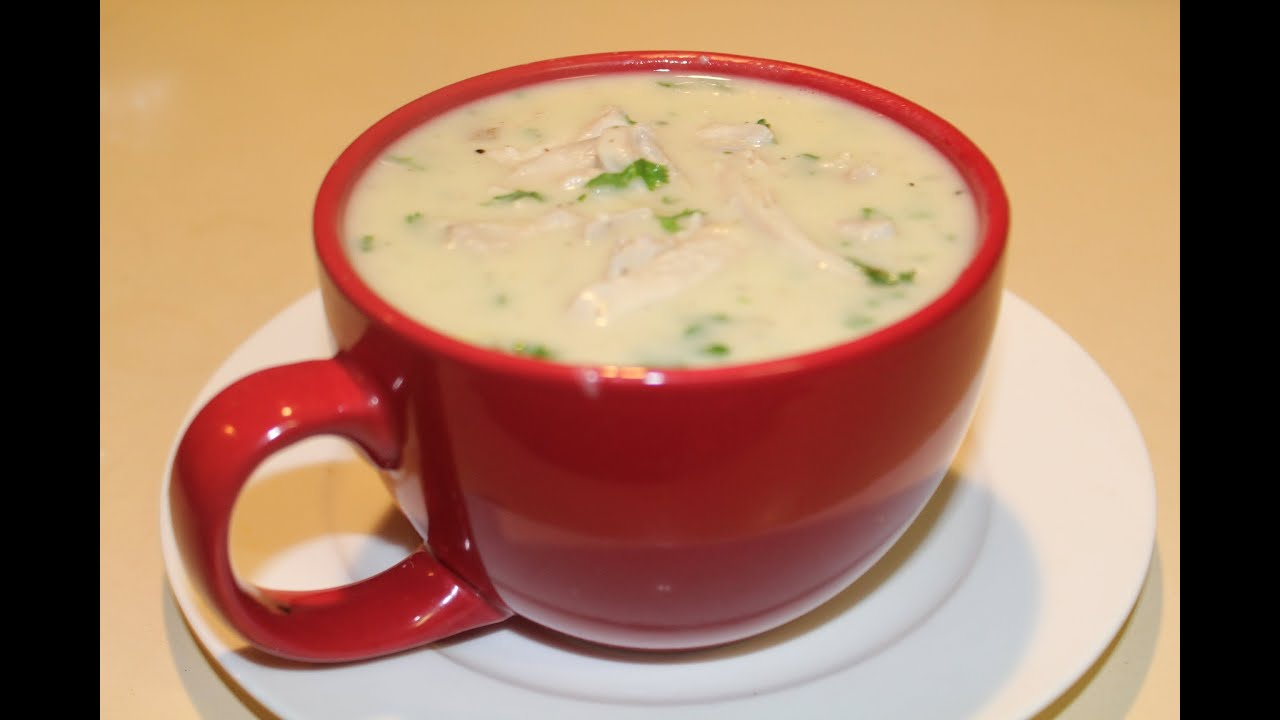 Cream of chicken soup from scratch youtube forumfinder Images
