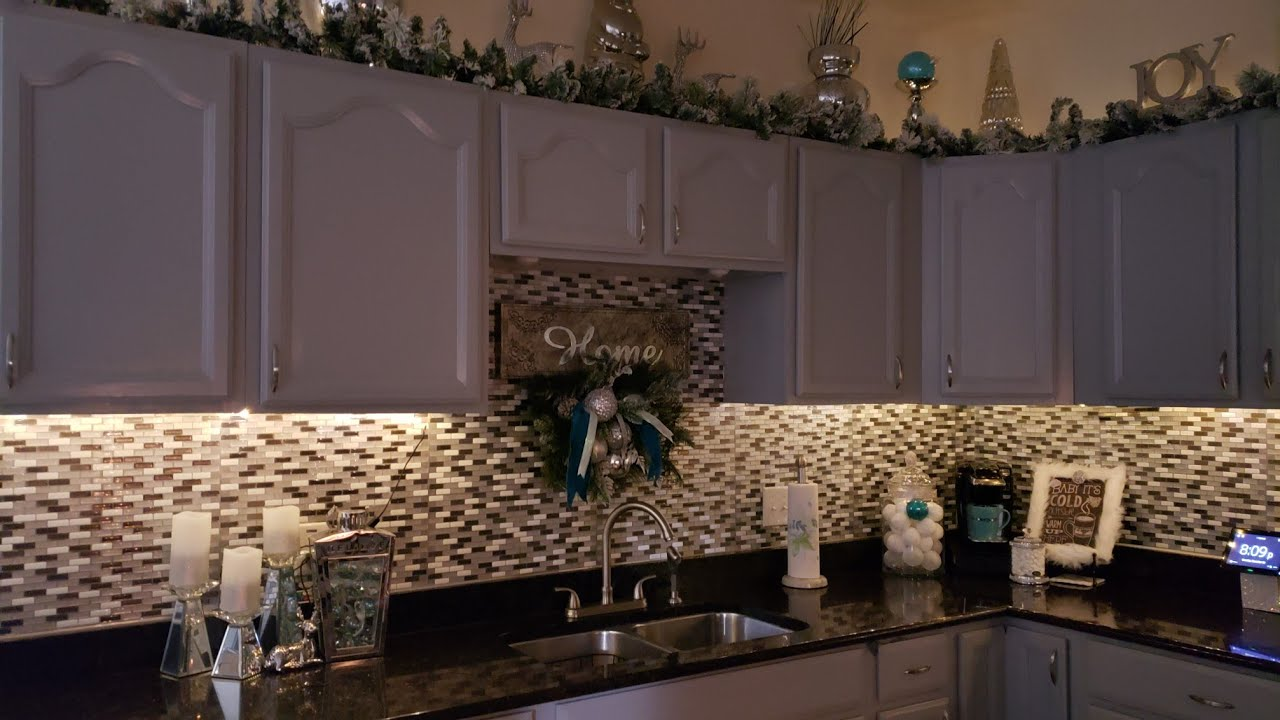 How To Placing String Lights Under Kitchen Cabinets Vontstringlights Youtube